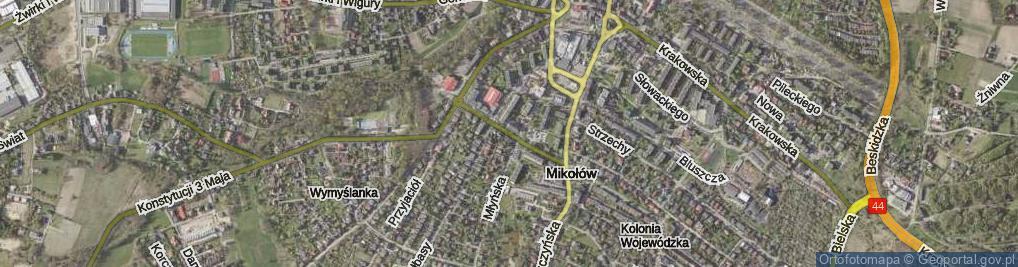 Zdjęcie satelitarne Bandurskiego Władysława, ks. bp. ul.