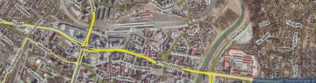 Zdjęcie satelitarne Bardowskiego Piotra ul.