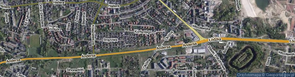 Zdjęcie satelitarne Balewskiego Władysława ul.