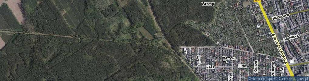 Zdjęcie satelitarne Barbarka ul.