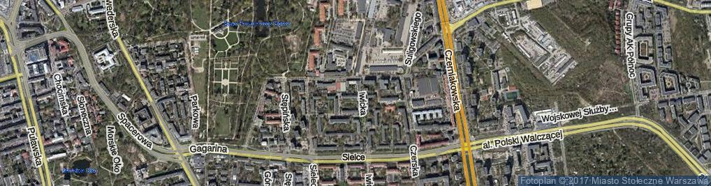 Zdjęcie satelitarne Badowska ul.