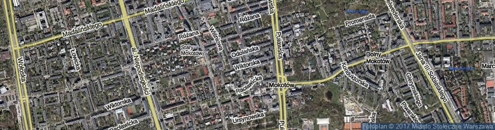 Zdjęcie satelitarne Bałuckiego Michała ul.