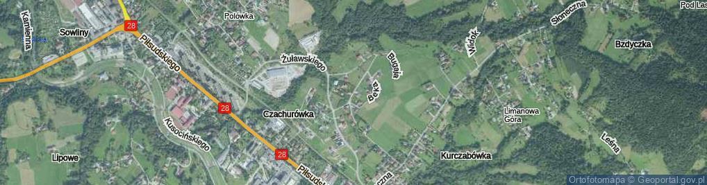Zdjęcie satelitarne Bednarczyka Piotra, bp. ul.