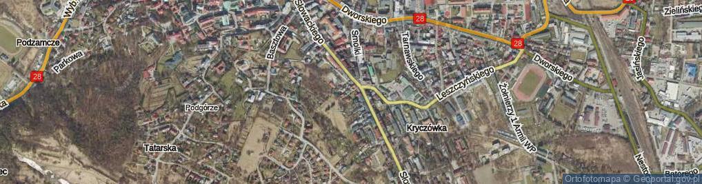 Zdjęcie satelitarne Benszówny Ireny ul.