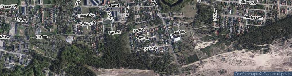 Zdjęcie satelitarne Bekasa ul.