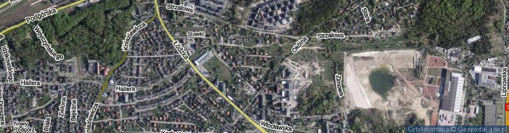 Zdjęcie satelitarne Beliny-Prażmowskiego Władysława, płk. ul.