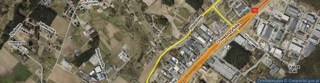 Zdjęcie satelitarne Bielińskiego Kazimierza ul.