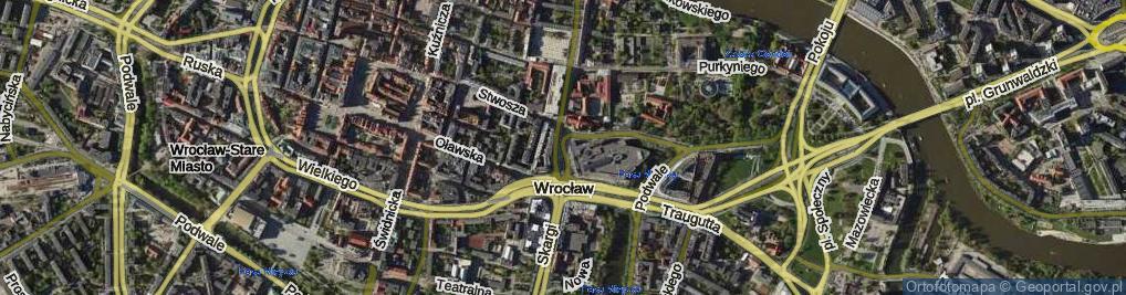 Zdjęcie satelitarne bł. Czesława ul.