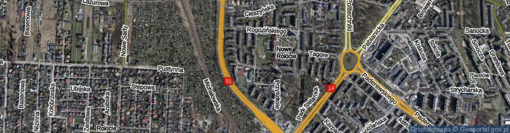 Zdjęcie satelitarne Bohdanowicza Karola ul.