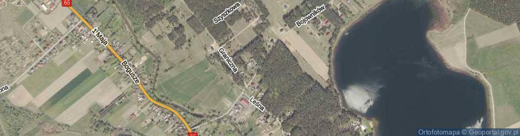 Zdjęcie satelitarne Bojowników ul.