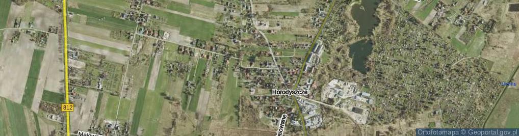 Zdjęcie satelitarne Bogdanowicza Kazimierza ul.