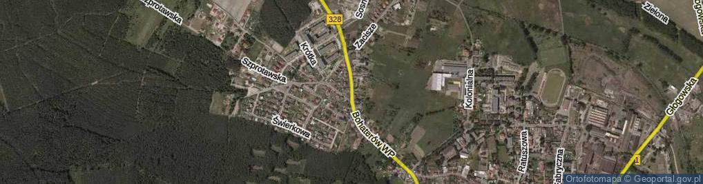 Zdjęcie satelitarne Bohaterów Wojska Polskiego ul.