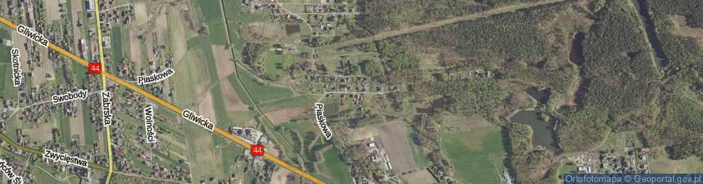 Zdjęcie satelitarne Borowa ul.