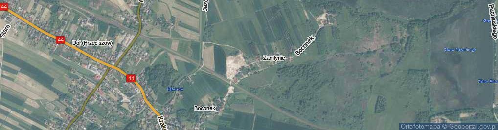 Zdjęcie satelitarne Boconek ul.