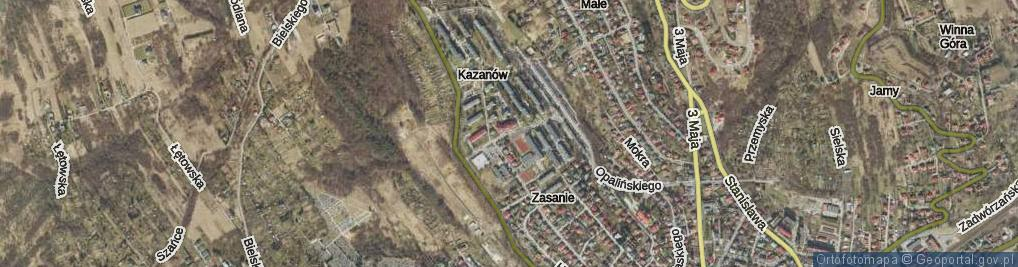 Zdjęcie satelitarne Boruty-Spiechowicza Mieczysława, gen. ul.