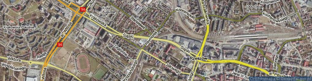 Zdjęcie satelitarne Borelowskiego Marcina ul.