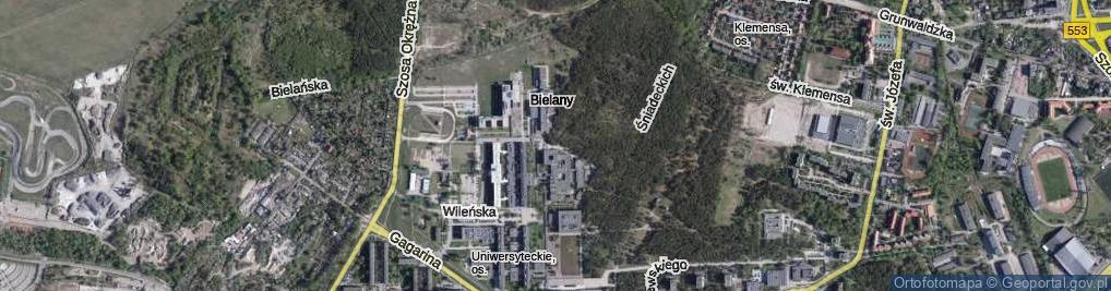 Zdjęcie satelitarne Bojarskiego Władysława ul.