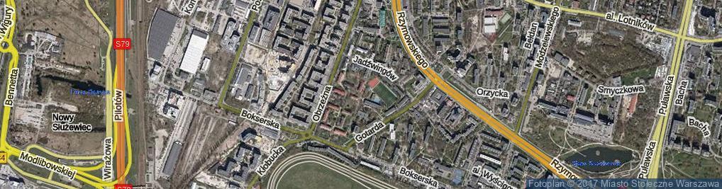 Zdjęcie satelitarne Bogunki ul.