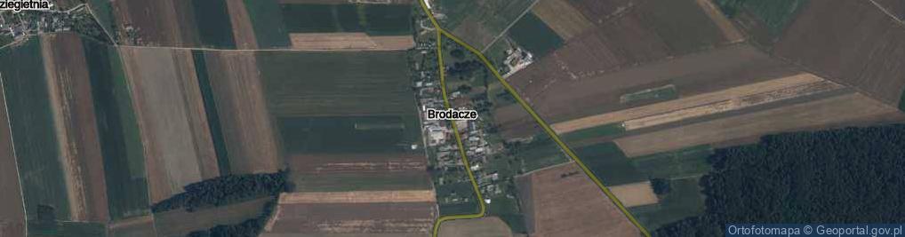 Zdjęcie satelitarne Brodacze ul.