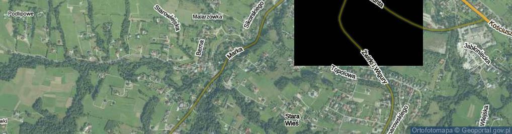 Zdjęcie satelitarne Braci Słupskich ul.