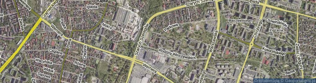 Zdjęcie satelitarne Brandta Józefa ul.
