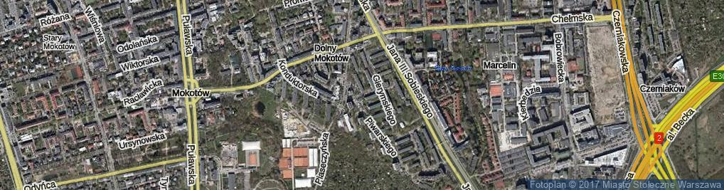 Zdjęcie satelitarne Braci Pillatich ul.