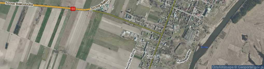 Zdjęcie satelitarne Brykalskiego Stanisława, kpt. ul.