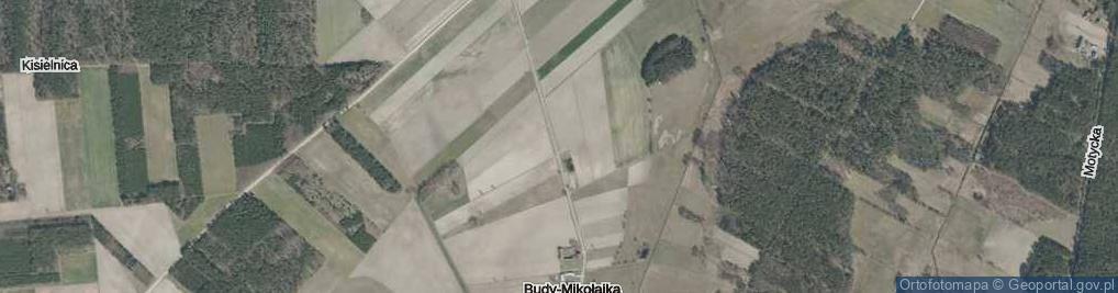 Zdjęcie satelitarne Budy-Mikołajka ul.