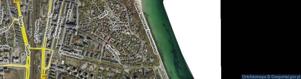 Zdjęcie satelitarne Bulwar Nadmorski Feliksa Nowowiejskiego ul.