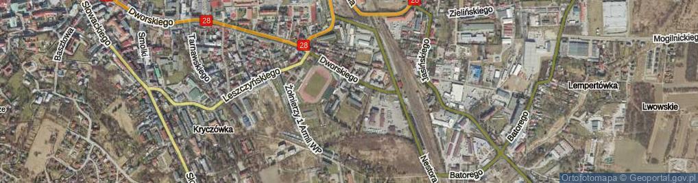 Zdjęcie satelitarne Bujaka Franciszka ul.