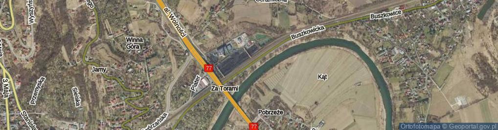 Zdjęcie satelitarne Buszkowicka ul.