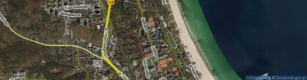Zdjęcie satelitarne Budzysza Wosia ul.