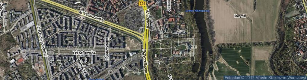 Zdjęcie satelitarne Cendrowskiego Stefana ul.