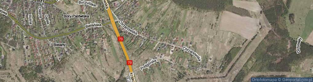 Zdjęcie satelitarne Chrzanowska ul.