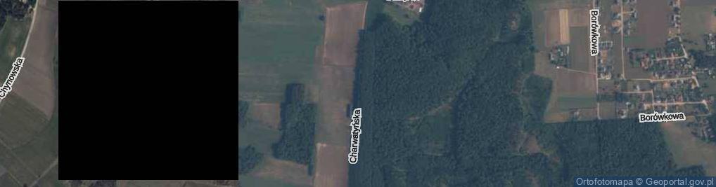 Zdjęcie satelitarne Charwatyńska ul.