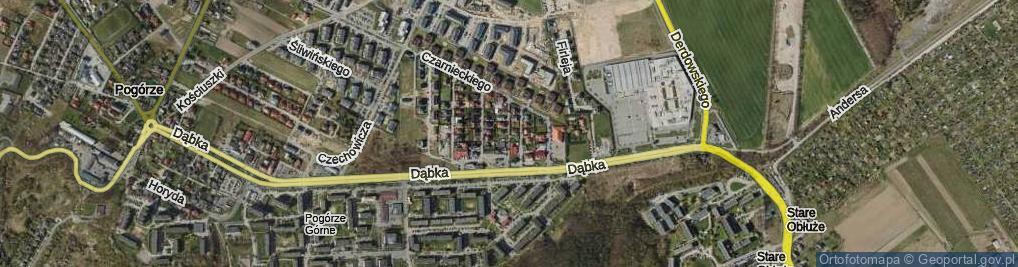 Zdjęcie satelitarne Chodkiewicza ul.