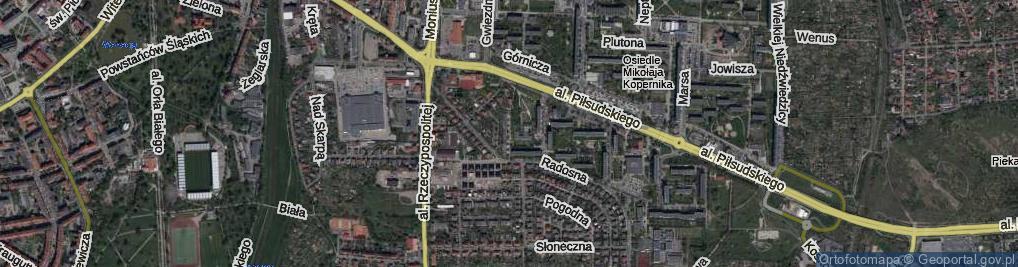 Zdjęcie satelitarne Ciołkowskiego Konstantego ul.