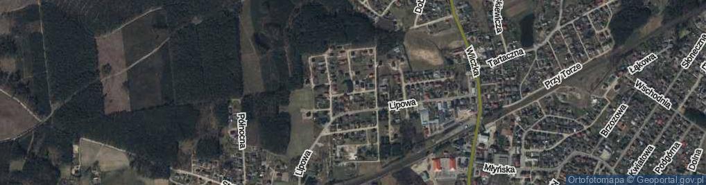 Zdjęcie satelitarne Cisowa ul.