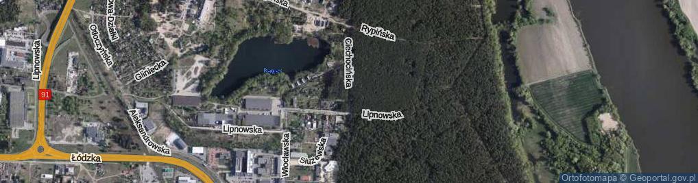 Zdjęcie satelitarne Ciechocińska ul.