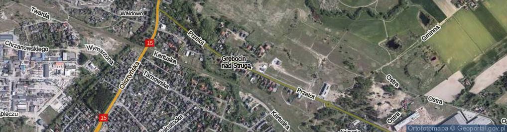 Zdjęcie satelitarne Ciekawa ul.