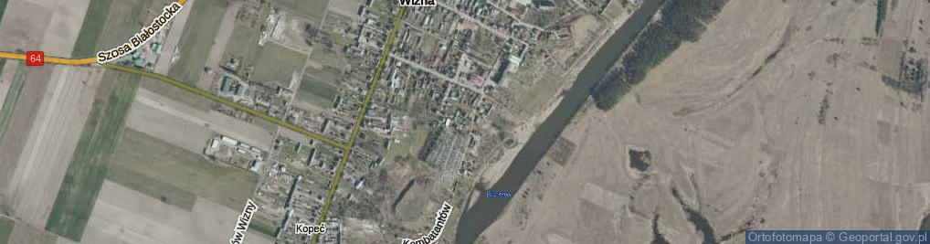 Zdjęcie satelitarne Cmentarna ul.