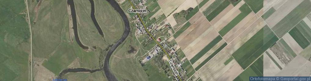 Zdjęcie satelitarne Czarnocin ul.