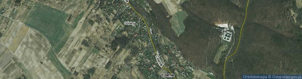 Zdjęcie satelitarne Czerna ul.