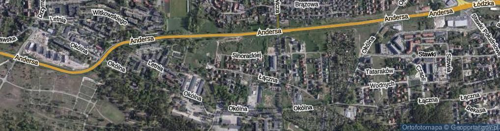 Zdjęcie satelitarne Czachowskiego Ludwika ul.