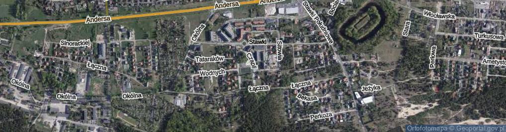 Zdjęcie satelitarne Czapli ul.