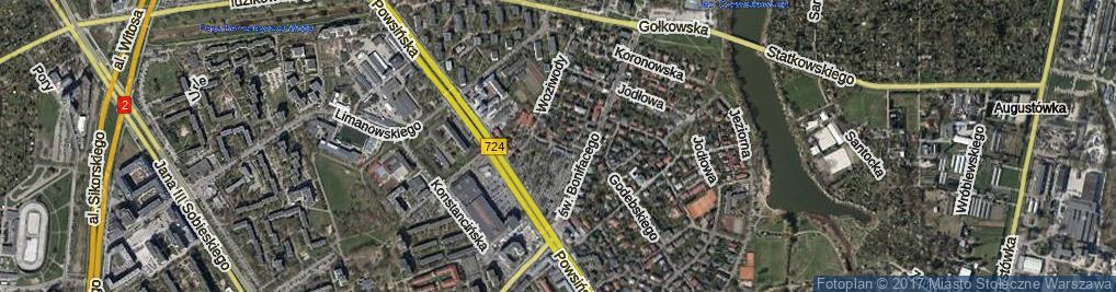 Zdjęcie satelitarne Czyżewska ul.