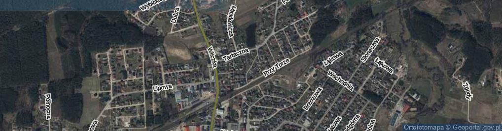 Zdjęcie satelitarne Dąbka, płk. ul.