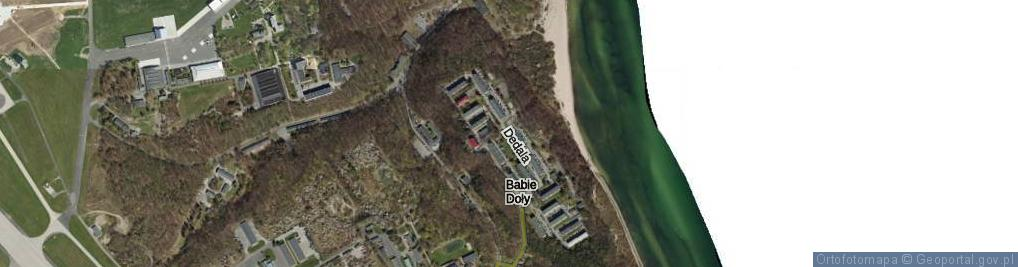 Zdjęcie satelitarne Dedala ul.