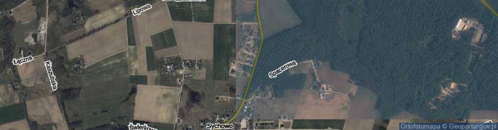 Zdjęcie satelitarne Dmowskiego Romana ul.