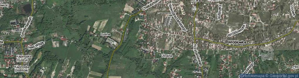 Zdjęcie satelitarne Doroszewskiego Witolda ul.